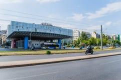 Большая автобусная станция Стоковое фото RF