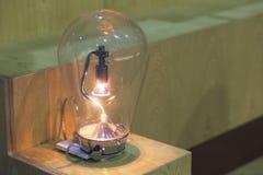 Большая лампа накаливания Стоковое Изображение RF