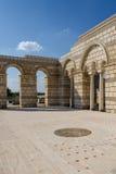 Большая базилика в Pliska Стоковое Изображение RF