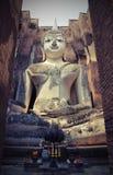 Большая буддийская статуя Стоковое Изображение