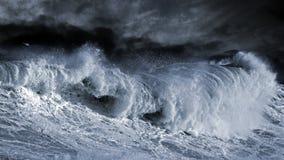Большая волна Atantic Стоковая Фотография