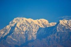 Большая гора снега Стоковая Фотография