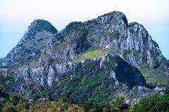 Большая гора для trekking Стоковые Изображения RF