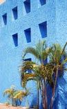 Большая голубая стена Стоковые Фотографии RF