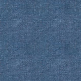 Голубая linen безшовная текстура Стоковое Фото