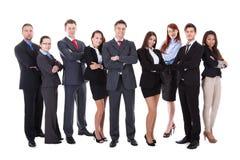 Большая группа в составе бизнесмены Стоковое фото RF