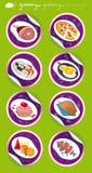 Большая еда Стоковое Фото