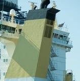 Большая желтая воронка корабля Стоковые Фото