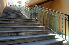 Большая длинная лестница Стоковое Фото