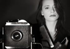 Большая камера фильма Стоковое Изображение RF
