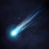 Большая комета Стоковое Изображение RF