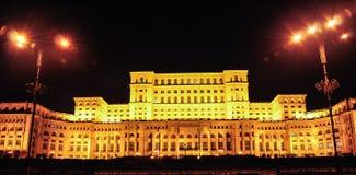 Большая конструкция, Каса Poporului стоковые изображения