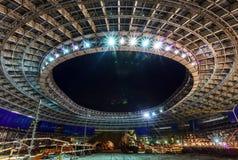 Большая конструкция стадиона спорта стоковые фото