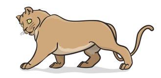 Большая кошка бесплатная иллюстрация