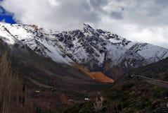 Большая красочная гора Стоковые Изображения