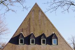 Большая крыша шифера Стоковые Фото