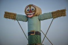 Большая кукла соломы Стоковые Изображения RF