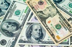 Большая куча долларов Стоковая Фотография RF