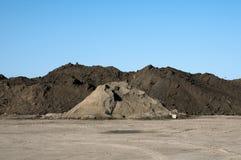 Большая куча почвы Стоковая Фотография