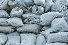Большая куча польностью пакостных сумок Стоковое Фото