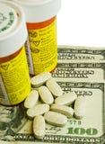 Большая медицина денег Стоковое фото RF