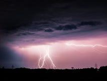 Большая молния Стоковое Фото