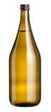 Большая немеченая большая винная бутылка белого вина Стоковое Изображение RF