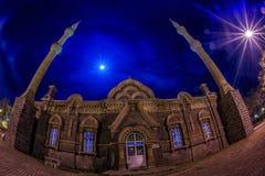 Большая ноча собора (мечеть Fethiye) Стоковые Фотографии RF