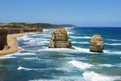 Большая дорога океана, Австралия Стоковое фото RF
