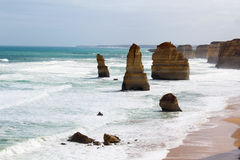 Большая дорога океана, Австралия Стоковая Фотография