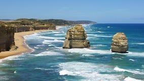 Большая дорога океана, Австралия Стоковое Изображение RF