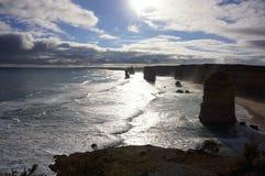Большая дорога океана, 12 апостолов, Австралия Стоковая Фотография RF