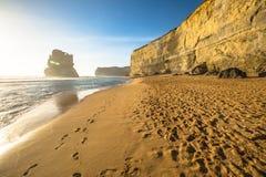 Большая дорога океана: Шаги Гибсона Стоковая Фотография RF
