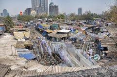 Большая прачечная Мумбай Стоковое фото RF