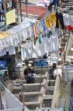 Большая прачечная Мумбай Стоковое Фото