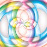 Большая предпосылка конфеты спирали леденца на палочке Стоковое Изображение