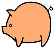 Большая предпосылка свиньи Стоковое Изображение RF