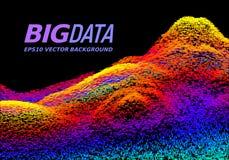 Большая принципиальная схема данных абстрактный вектор предпосылки Стоковые Фотографии RF