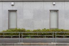 Большая пустая афиша на стене улицы Стоковое Изображение RF