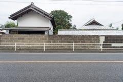 Большая пустая афиша на стене улицы Стоковое Изображение