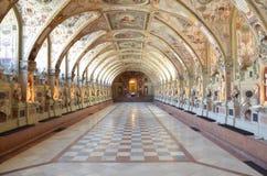 Большая пустая церковь Hall в Германии Стоковое Фото