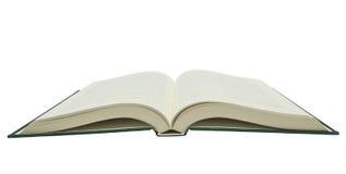 Большая раскрытая книга изолированная на белой предпосылке Стоковые Изображения RF