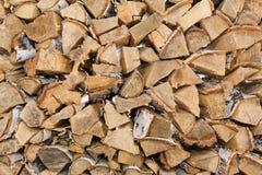 большая древесина вала текстуры Стоковые Фотографии RF
