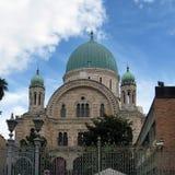 Большая синагога для Флоренции Стоковое фото RF