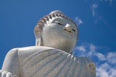 большая скульптура Будды Стоковые Изображения RF