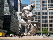 Большая скульптура глины #4 Стоковое Фото