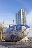 Большая скульптура рыб Стоковые Фотографии RF
