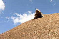 Большая соломенная крыша Стоковые Фото
