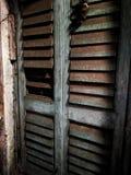 Большая старая дверь Стоковое фото RF