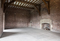 Большая старая пустая комната Стоковые Изображения RF